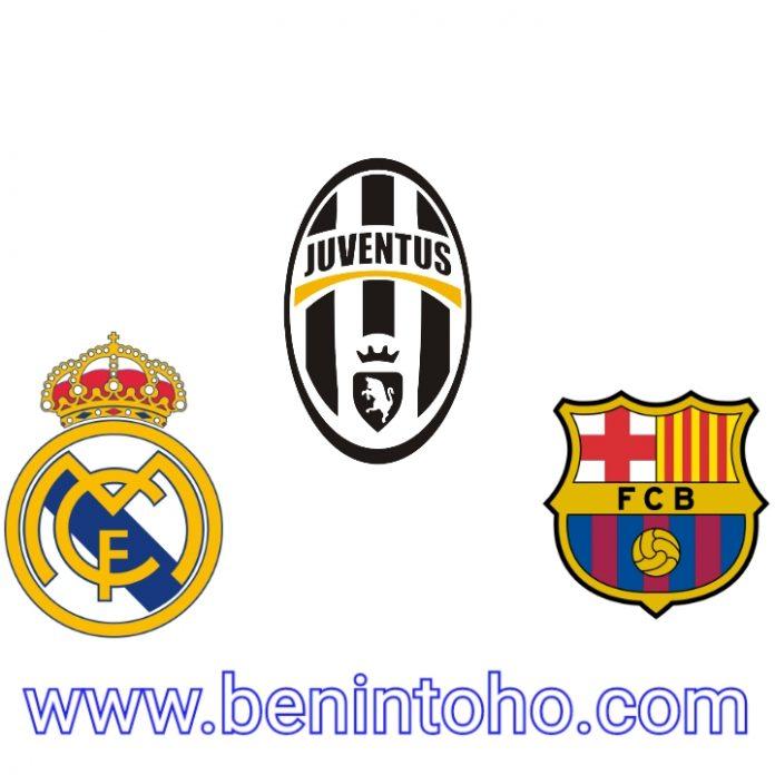 Le FC Barcelone, le Real Madrid et la Juventus turin, les trois qui tiennent toujours à la mise en œuvre du projet super ligue